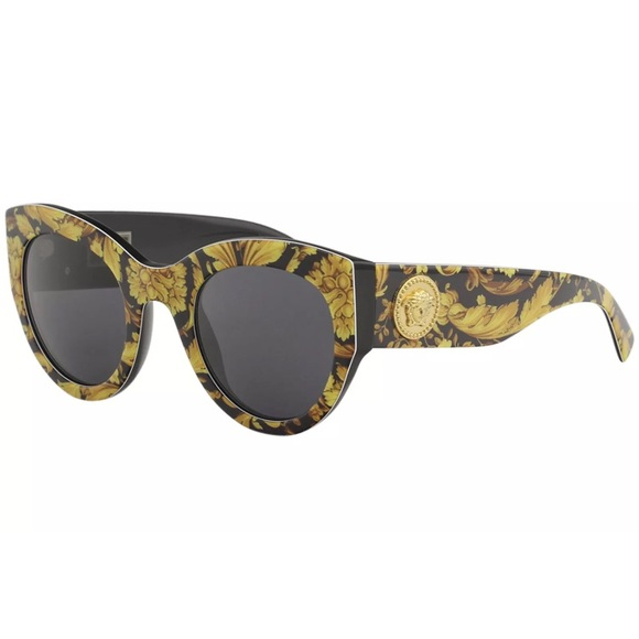 50bb08b0aad0 Versace Sunglasses 4353 baroque yellow frame